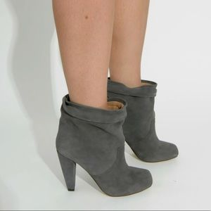 Kathryn Amberleigh Blue Suede Leather Boots size 6